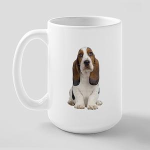 Basset Hound Picture - Large Mug