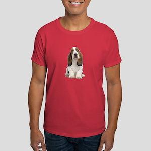 Basset Hound Picture - Dark T-Shirt