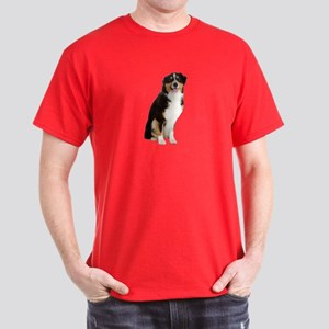 Australian Shepherd Picture - Dark T-Shirt