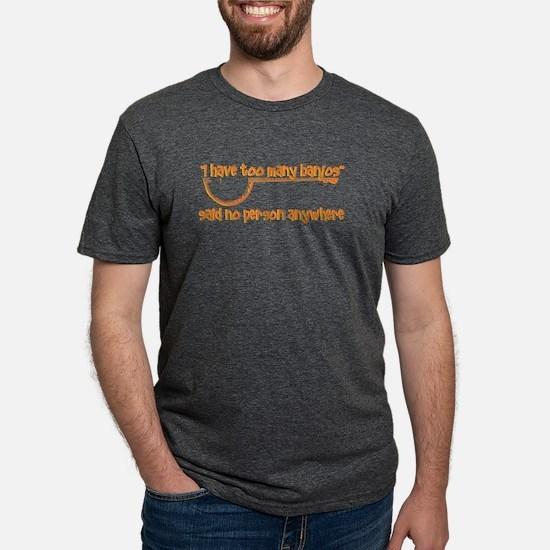 Banjo Design T-Shirt