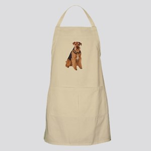 Airedale Picture - BBQ Apron