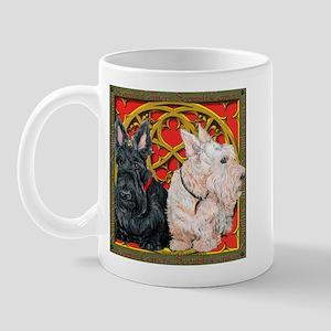Scottish Terriers Celtic Dogs Mug
