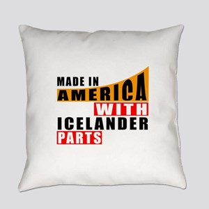Made In America With Icelander Par Everyday Pillow