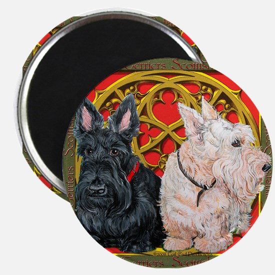 Scottish Terriers Celtic Dogs Magnet