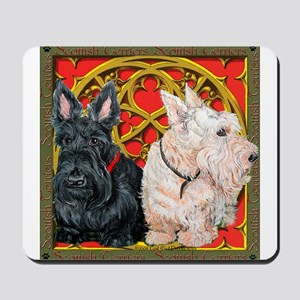 Scottish Terriers Celtic Dogs Mousepad