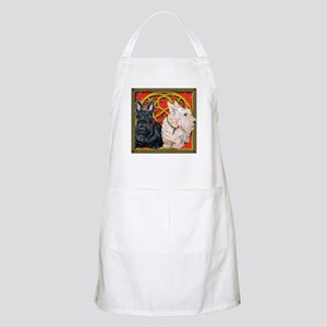 Scottish Terriers Celtic Dogs BBQ Apron