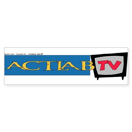 Buy an ACTLab TV sticker at cost!*