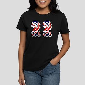 Number 22 Women's Dark T-Shirt