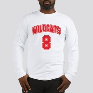 Wildcats 8 Long Sleeve T-Shirt