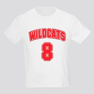 Wildcats 8 Kids Light T-Shirt