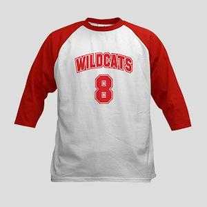 Wildcats 8 Kids Baseball Jersey
