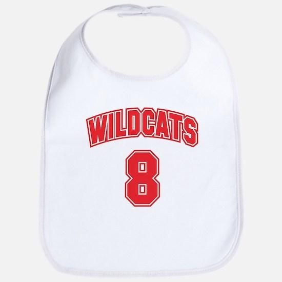 Wildcats 8 Bib