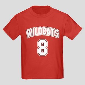 Wildcats 8 Kids Dark T-Shirt