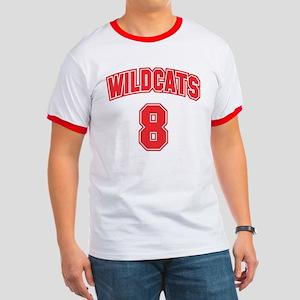 Wildcats 8 Ringer T