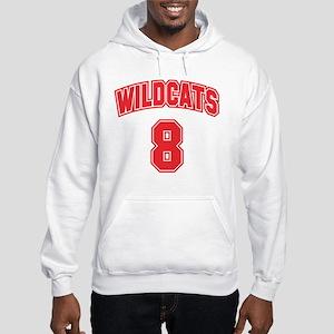 Wildcats 8 Hooded Sweatshirt
