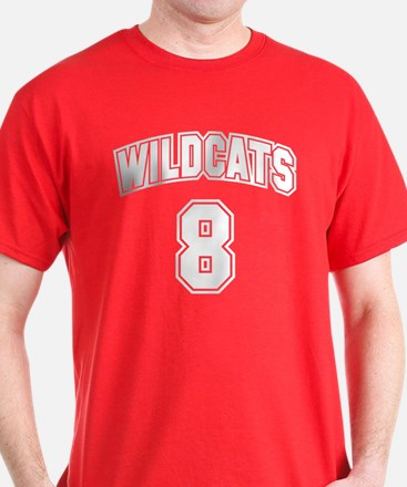 Wildcats 8 T-Shirt