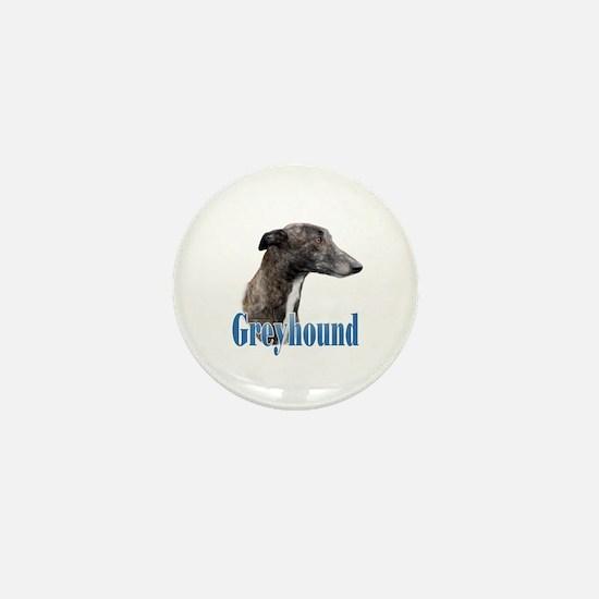 Greyhound Name Mini Button