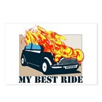 Best ride Postcards (Package of 8)