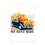 Best ride Mini Poster Print