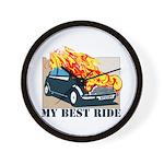 Best ride Wall Clock