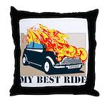 Best ride Throw Pillow