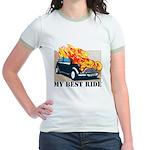 Best ride Jr. Ringer T-Shirt