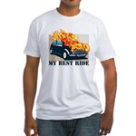 Best ride Fitted T-Shirt