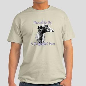 Greyhound Mom1 Light T-Shirt