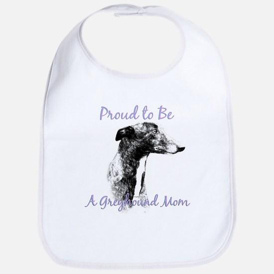 Greyhound Mom1 Bib