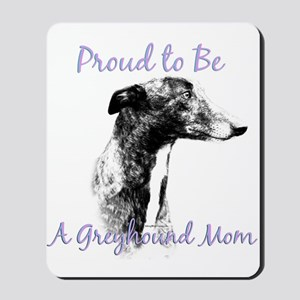 Greyhound Mom1 Mousepad