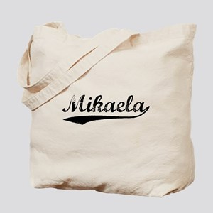 Vintage Mikaela (Black) Tote Bag
