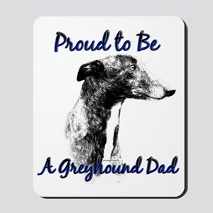Greyhound Dad1 Mousepad