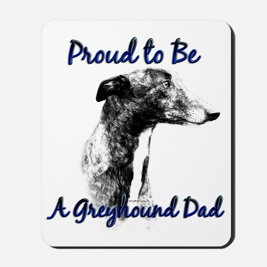 Greyhound Dad1 Mousepad