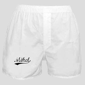 Vintage Mikel (Black) Boxer Shorts
