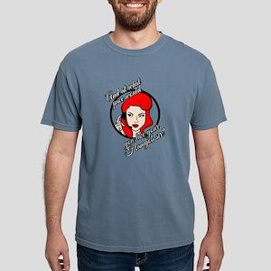 Sarcastic Red Head Customer Service Woman T-Shirt