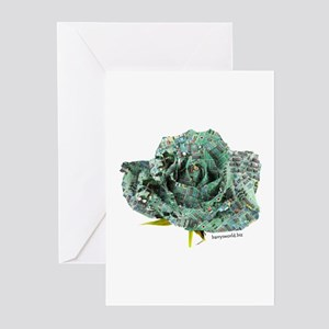 Cyber Rose Greeting Cards (Pk of 20)