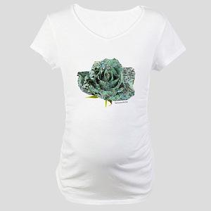 Cyber Rose Maternity T-Shirt