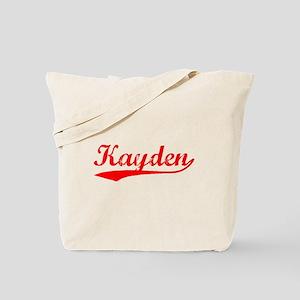 Vintage Kayden (Red) Tote Bag
