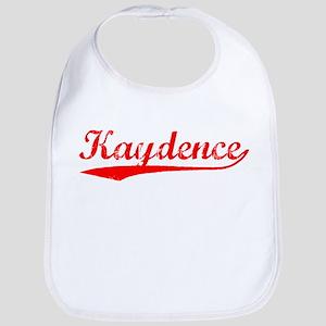 Vintage Kaydence (Red) Bib