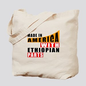 Made In America With Ethiopian Parts Tote Bag