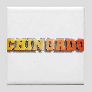 Chingado TeamMT Tile Coaster