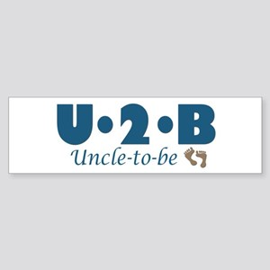 Uncle to Be Bumper Sticker