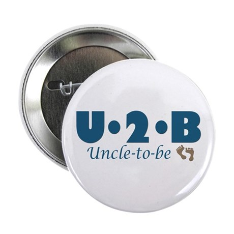 """Uncle to Be 2.25"""" Button"""