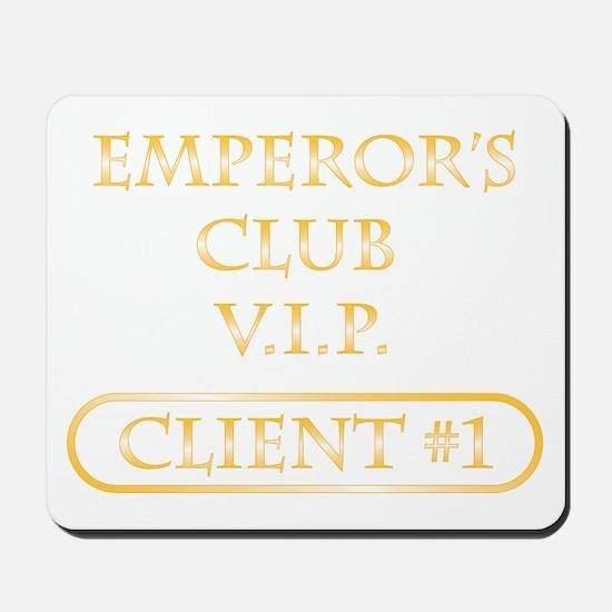 Spitzer emperor's club client Mousepad