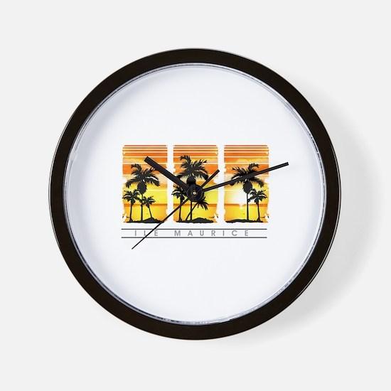 Coco tree mru3 Wall Clock