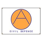 Civil Defence Banner