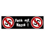 Anti-Nazi Bumper Sticker (50 pk)