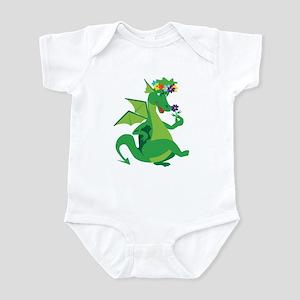 Flower Dragon Infant Bodysuit