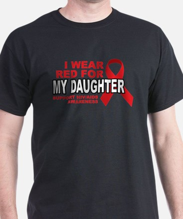 Red For My Daughter T-Shirt