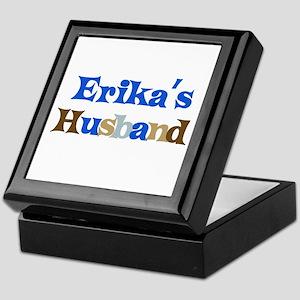Erika's Husband Keepsake Box